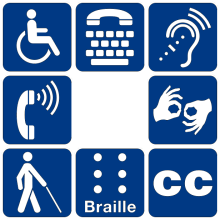 accommodations symbols