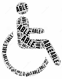tag-word-cloud-disability-related-shape-human-wheelchair-34905213