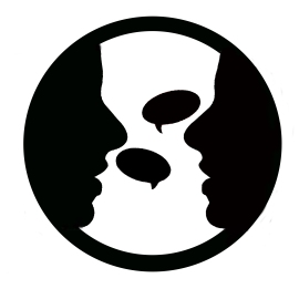 Two-people-talking-logo