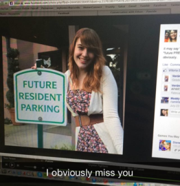 I was only gone 5 hours before getting this Snap from my roommate...