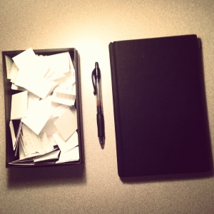 writing prompt box