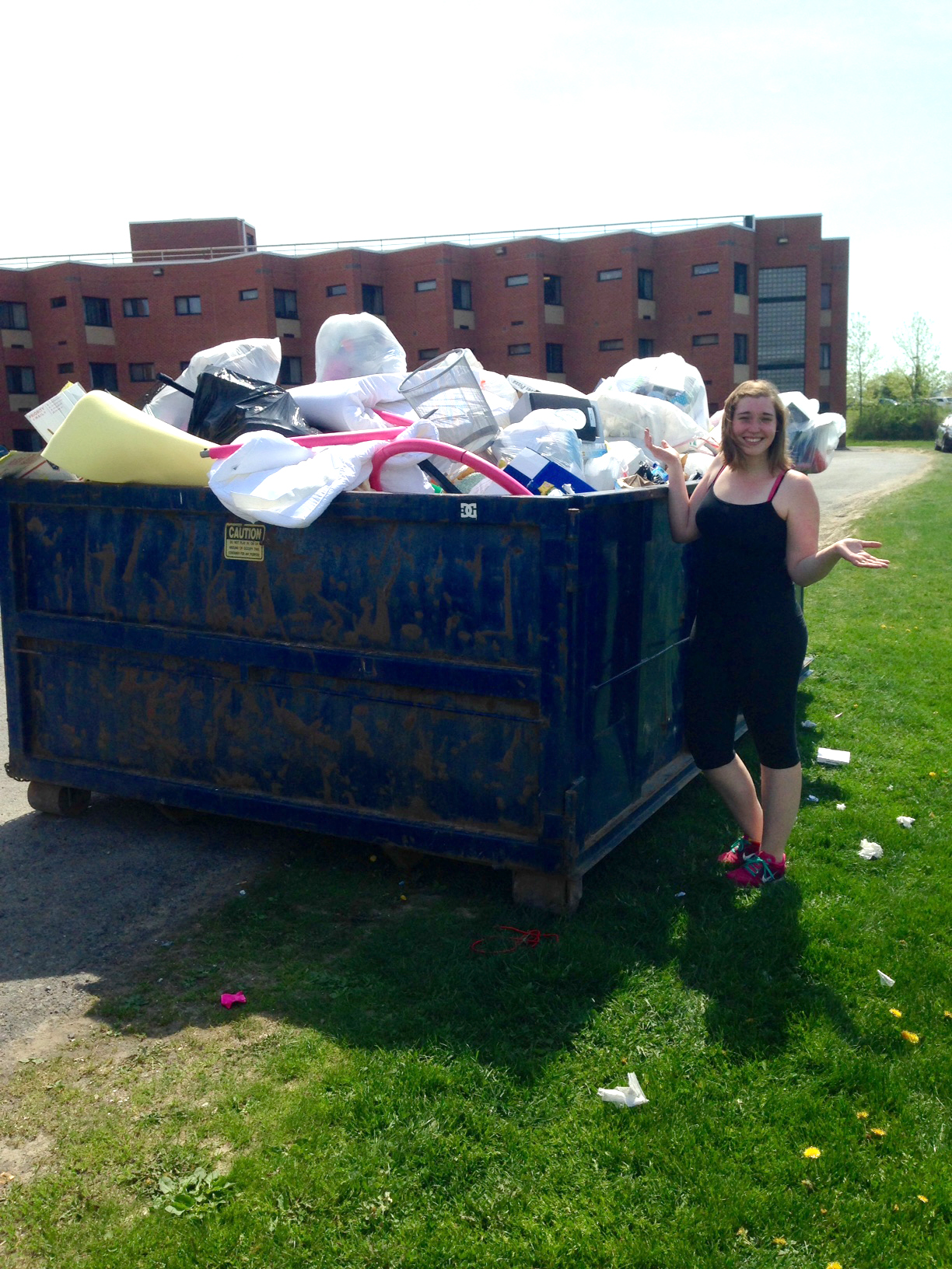 dumpster diving or how i learned to stop buying and love the dumpster diving