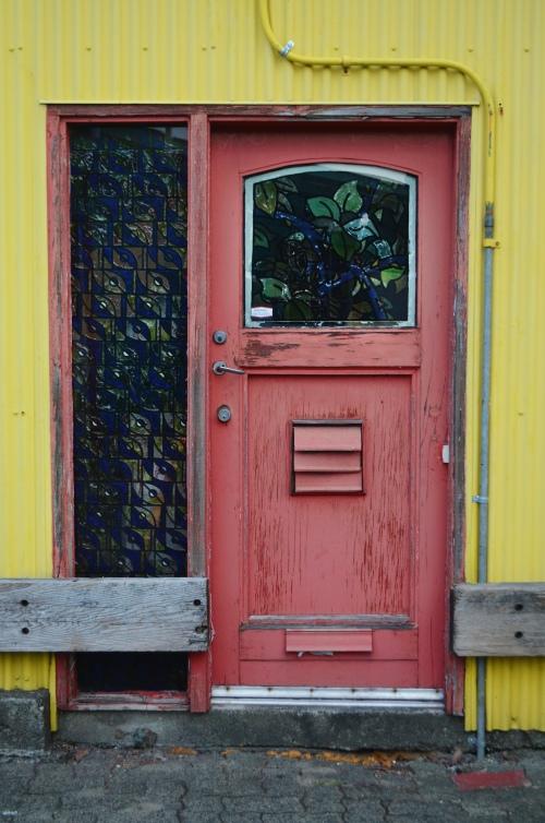 Granville Island door