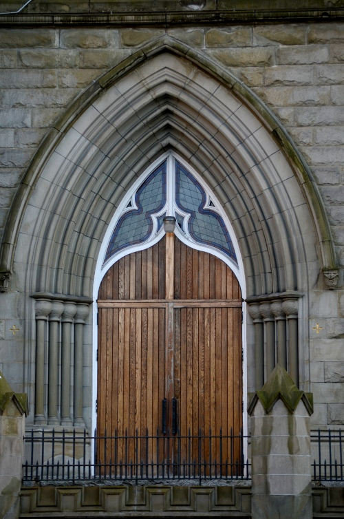 Vancouver Holy Rosary Cathedral door