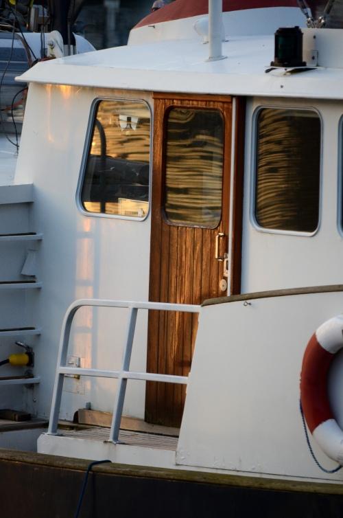 Granville Island boat door