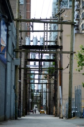 Vancouver alleyway