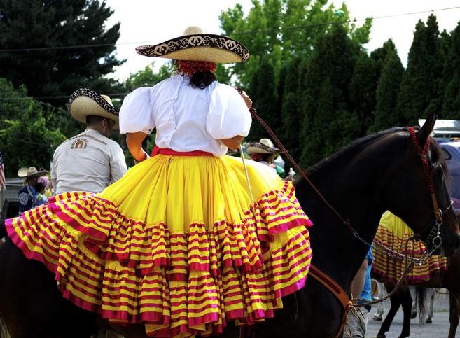 falda decorativa