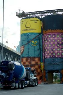 giants mural