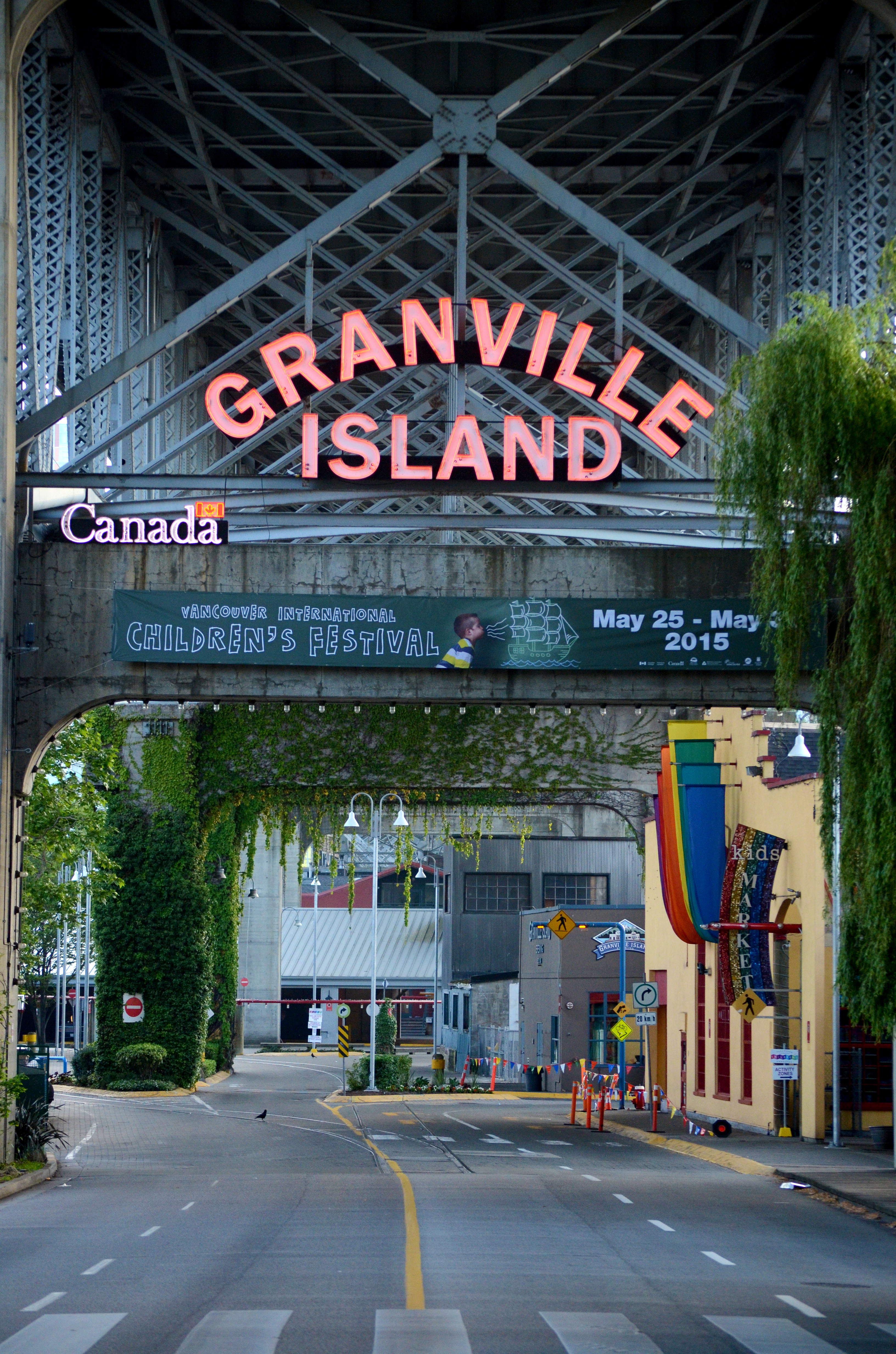 Industry Art Granville Island Victim To Charm