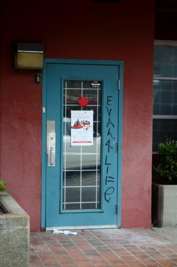 downtown Vancouver door