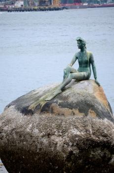 Stanley Park siren sculpture