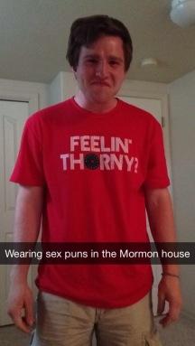 feeling thorny shirt