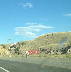 Cody Wyoming sign