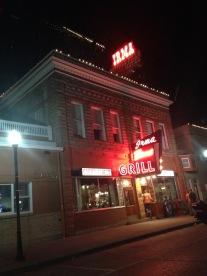 Irma's diner exterior