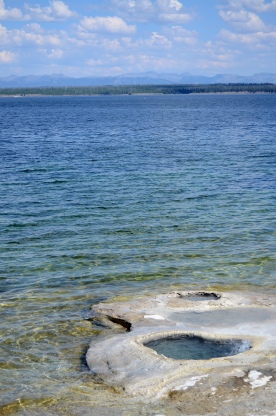 west thumb yellowstone lake