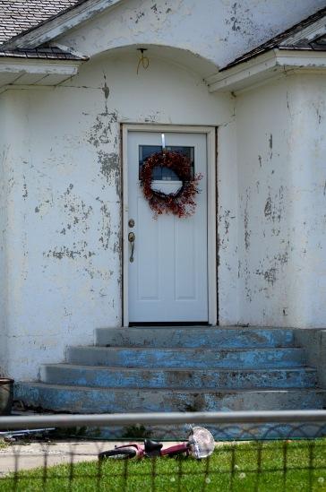 Arco Idaho door