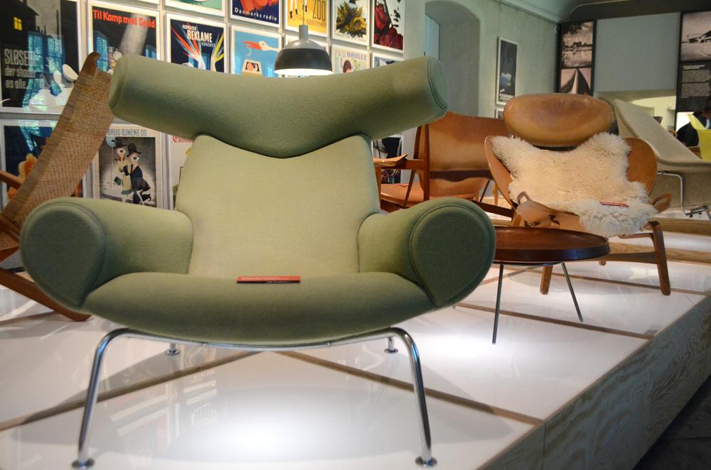 Chairs at Designmuseum Danmark