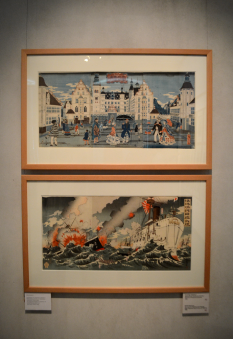 Japanese paintings at Designmuseum Danmark