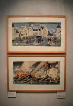 Japanese paintings at Designmuseum Danmark
