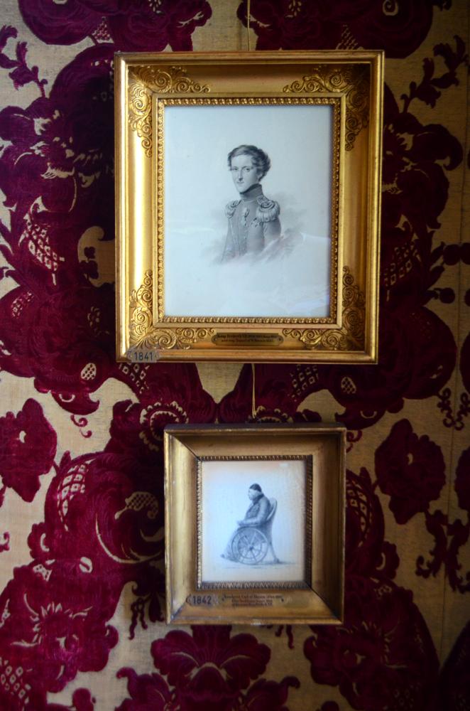 Portraits at Rosenborg Slot