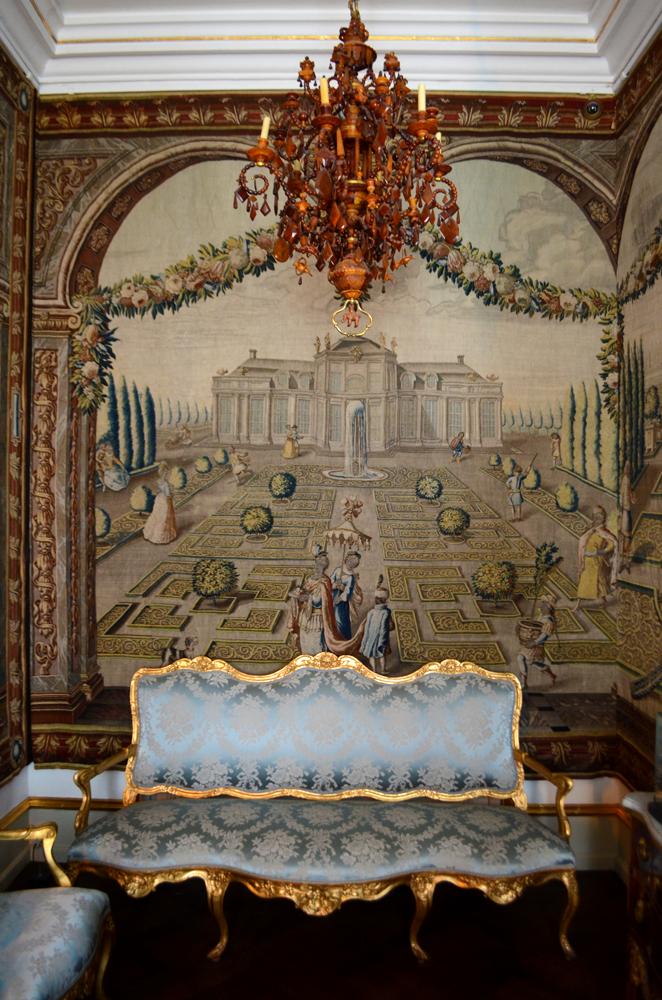 furniture at Rosenborg Slot