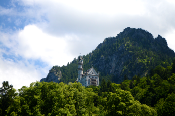 neuschwanstein from town small