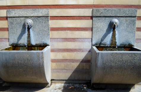 Mineral water flows freely in Sofia